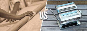 Pasta sfoglia al mattarello o a macchina?