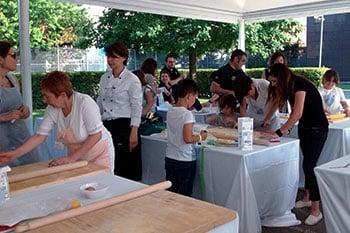 team building pasta fatta al mattarello